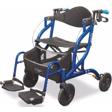 Rollator Transport Chair